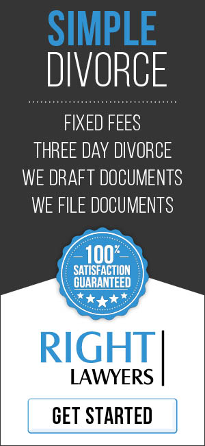 Simple Divorce - Fixed Fees, Three Day Divorce, We Draft Documents, We File Documents.