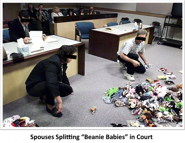 Couple-Splitting-Beannie-Babies